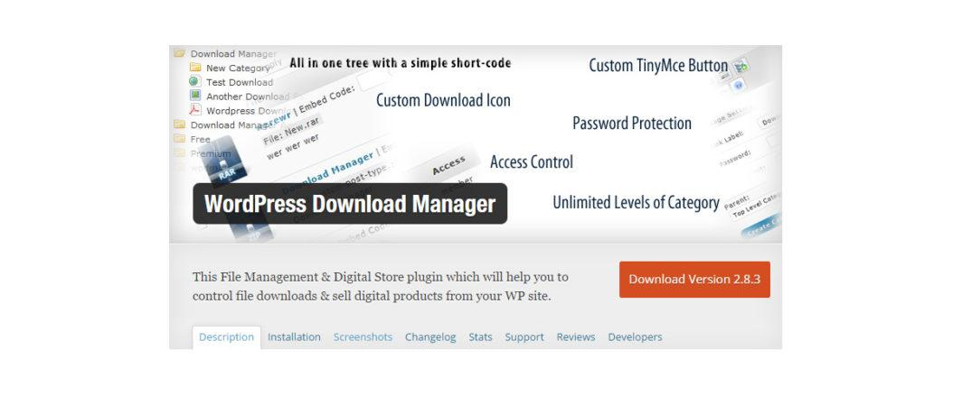 wordpress-download-manager