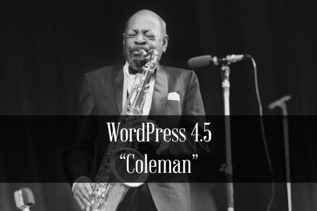 "WordPress 4.5 ""Coleman"" – co nowego?"